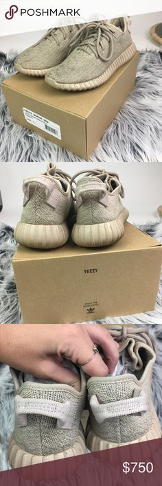Adidas Yeezy Boost 350 in Oxford Tan These have been worn a handful of times & do show some wear. Some peeling to paint on soles and just needs some cleaning. When worn they look great. They are 100% authentic, purchased from adidas.com. I can provide any additional pictures. PS: these were in the ACTUAL same room as Kanye West on the Saint Pablo tour😜 Men's 7.5, fits a women's 9 (If you do not like my price, simply don't buy. I am in no rush to sell these and I know they are worn, they are…