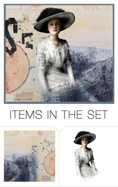 """""""Serenity"""" by dorataya ❤ liked on Polyvore featuring art, abstract and artandexpression"""