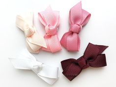 45af0b1f26a2 Small Snap Chelsea Boutique Bow Collection - Pinkie Promise – Baby Wisp  Boutique Hair Bows,