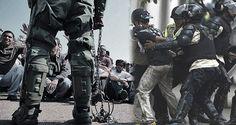 ¡ULTRAJE DE LA DICTADURA! FPV : 538 detenidos 6 muertos y cientos de heridos durante protestas opositoras
