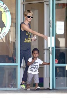 Charlize Theron & Jackson: Fit Fun