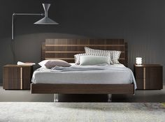 Tratto Italian Platform Bed by Rossetto - $1,975.00