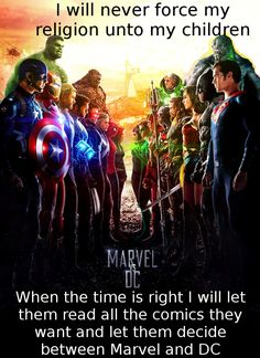 Marvel all the way