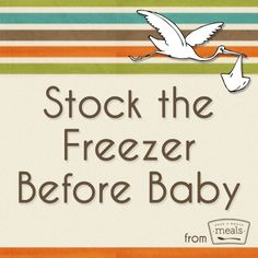 Love this idea -- Honor new parents with the gift of freezer meals! This post will tell you how to successful plan and execute a shower to stock their freezer before baby!| Once A Month Meals | OAMC | Freezer Cooking | Freezer Meals