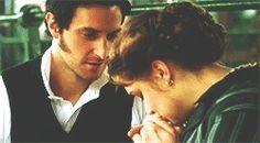 Richard Armitage (Mr. John Thornton) & Daniela Denby-Ashe (Margaret Hale) - North & South directed by Brian Percival (TV Mini-Series, 2004) #elizabethgaskell