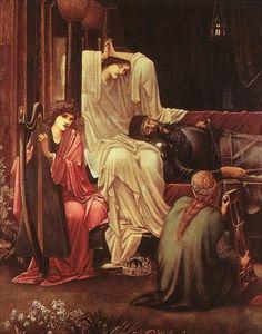 The Last Sleep of Arthur in Avalon  Sir Edward Burne-Jones