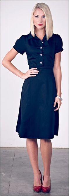 perfect shirt dress? olive dress by mikarose