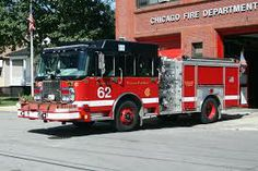 Chicago Fire truck and station!