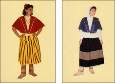 trajes regionais antigos - Ilha da Madeira