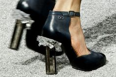 Chanel crystal shoes  thefashionco.blogspot.in