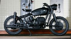 BMW R60/2 completely remodelled as a tribute to The Great Escape.