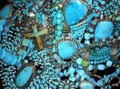 I have loved tourquoise jewelry, since I was a little girl playing in my grandmas jewelry box!