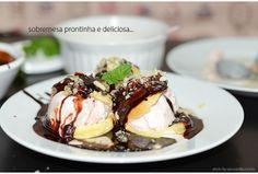 Receita aqui: http://www.spicyvanilla.com.br/2014/03/cinthianacozinha-receita-de-profiteroles-com-calda-de-chocolate-e-praline-de-amendoas/