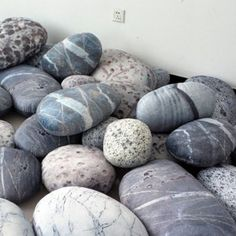 Rock pillows shipped out from Hong Kong today! Sewing Pillows, Diy Pillows, Floor Pillows, Decorative Pillows, Fake Plants Decor, Plant Decor, Living Furniture, Unique Furniture, Rock Floor