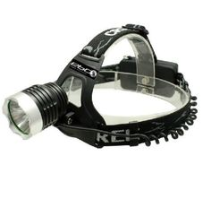 eBoTrade-Tech CREE XML T6 LED Headlight Headlamp Torch Flashlight 1600lm   2 x Rechargeable 18650 Battery -- You can find more details by visiting the image link.