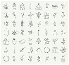 Hand Doodles, Sharpie Doodles, Sharpie Art, Flower Doodles, Tatoo Nature, Wallpaper Flower, Handpoke Tattoo, Drawing Hands, Minimalist Drawing
