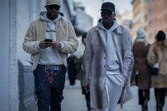 Men's street style   Fashion Week