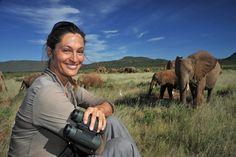Inlove with elephants!  Samburu beautiful and green after the rain.