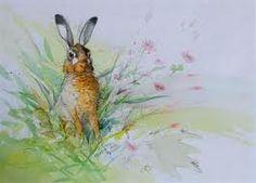 Walty Dudok van Heel Nursery Pictures, Bunny Art, Bunny Rabbit, Hare, Nursery Art, Rabbits, Pencil Drawings, Pastels, Illustration