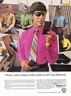 Vintage Men's Fashion Ad by retro-space, via Flickr. Boss.
