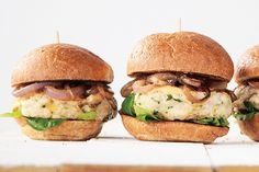 Find the recipe for Lemon Herb Chicken Burgers with Thousand Island Dressing and other cashew recipes at Epicurious.com