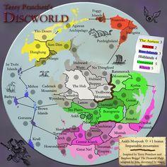 discworld map - Google Search