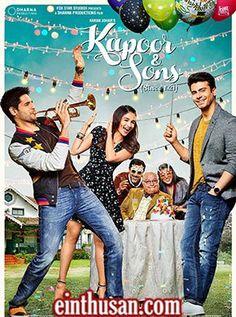 Kapoor & Sons Hindi Movie Online - Rishi Kapoor, Sidharth Malhotra, Fawad Khan, Ratna Pathak, Rajat Kapoor and Alia Bhatt. Directed by Shakun Batra. Music by Amaal Mallik. 2016 [U/A] ENGLISH SUBTITLE