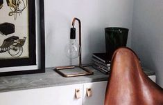 100 Man Cave Decor Ideas For Men - Masculine Decorating Designs Man Cave Homes, Copper Lamps, How To Make Rope, Interior Decorating, Interior Design, Diy Decorating, Pipe Lamp, Vintage Farmhouse, Vintage Decor