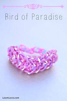 How to Make the Rainbow Loom Bird of Paradise