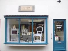 SUFFOLK, UK; Steve and Steve run an absolutely lovely shop in Bury St Edmunds called Painted Country focusing on interiors - painted furniture and upholstery but not gifts.
