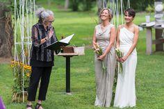 a wonderful wedding for two wonderful women photo:Garth Woods
