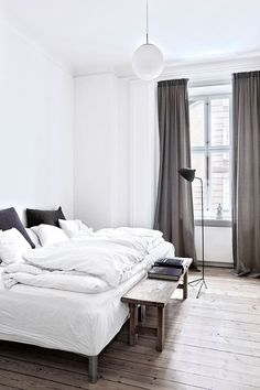 Eclectic contemporary apartment in Copenhagen | Birgitta Wolfgang / Sisters Agency via Bo Bedre