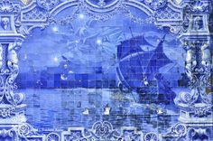 Azuleijos represent the state of the art of building decoration in Lisbon, Portugal. Nikon D7000, zoom 200 mm, opening 2,8