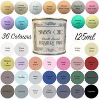 Shabby Chic Chalk Paint For Furniture 125ml Matt Finish Choice of 36 colours!