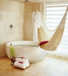 Hammock and tub... maybe - ooh la la by lamb