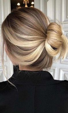 pinterest: nycgoddess loose bun