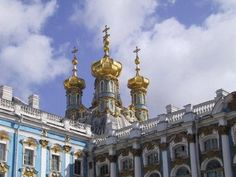 Love Bling and Gold? Visit Catherine Palace: Chapel