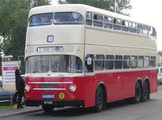 A Gräf & Stift double-decker bus in service in Vienna from 1961 until the Trucks, Tow Truck, Luxury Bus, New Bus, Double Decker Bus, Bus Coach, Busses, Limo, Public Transport
