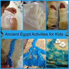 Ancient Egypt Activities for Kids - Layered Soul Homeschool