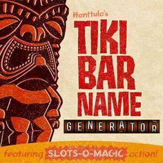 The Tiki Bar Name Generator -- Tiki Central