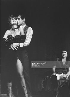 Gypsy Rose Lee (L) in a scene from Three Penny Opera.