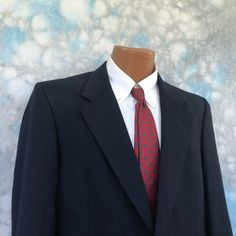 af5b8f895 Burberrys Sz 39 R Navy Wool Two Button Men's Sports Blazer #fashion  #clothing #shoes #accessories #mensclothing #suitssuitseparates (ebay link)