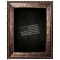 "Rayne Mirrors Roman Copper Chalkboard Size: 30"" x 48"""
