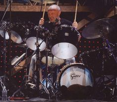 Phil Collins drummer of Genesis