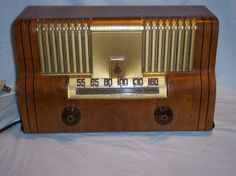 Vintage Emerson Model 615 Series B Tube Radio Working | eBay