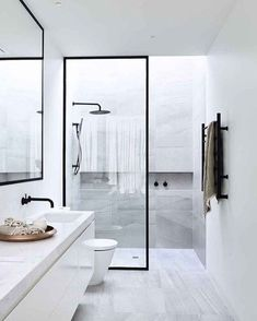 35 Best Scandinavian Bathroom Design Ideas - Page 3 of 39 Scandinavian Bathroom Design Ideas, Modern Bathroom Design, Bathroom Interior Design, Bathroom Designs, Interior Livingroom, Interior Paint, Modern Design, Interior Minimalista, Bad Inspiration