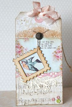 sweet vintage tag by rudlis, via Flickr