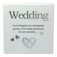 Wedding Wall Art Wooden Block Www Littlewhitedaisy Co Uk