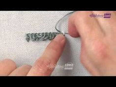 Embroidery Techniques, Youtube, Sewing, Deco, Craft, Hand Embroidery, Dressmaking, Couture, Deko