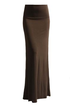 31bcbd9f9c Azules Women'S Rayon Span Maxi Skirt - Dark Brown S: This beatuful maxi  skirt features stretchable waistband. This is an amazing skirt perfect for  both day ...